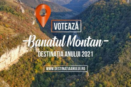 Votează Banatul Montan şi poţi câştiga vizitarea lui din elicopter!